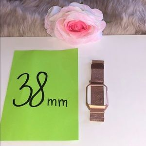 Other - Apple Watch Protective Case Milanese Band Strap